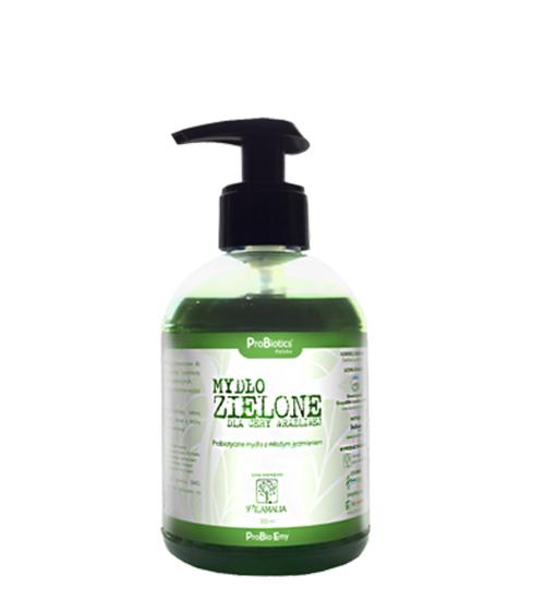 Mydło Zielone w płynie
